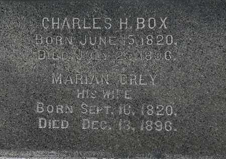 BOX, MARIAN - Lorain County, Ohio | MARIAN BOX - Ohio Gravestone Photos