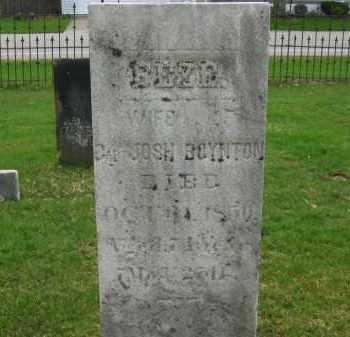 BOYNTON, BEZE - Lorain County, Ohio | BEZE BOYNTON - Ohio Gravestone Photos