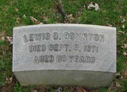 BOYNTON, LEWIS D. - Lorain County, Ohio | LEWIS D. BOYNTON - Ohio Gravestone Photos