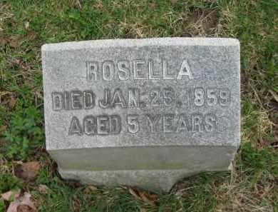 BOYNTON, ROSELLA - Lorain County, Ohio | ROSELLA BOYNTON - Ohio Gravestone Photos