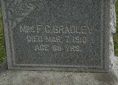 BRADLEY, F.C. - Lorain County, Ohio | F.C. BRADLEY - Ohio Gravestone Photos
