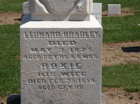 BRADLEY, LEONARD - Lorain County, Ohio | LEONARD BRADLEY - Ohio Gravestone Photos