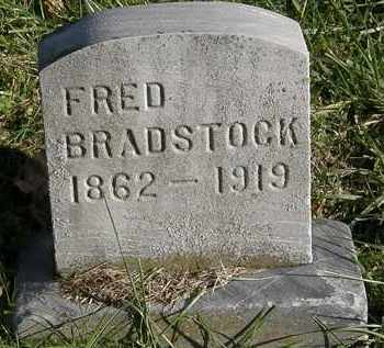 BRADSTOCK, FRED - Lorain County, Ohio | FRED BRADSTOCK - Ohio Gravestone Photos