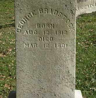 BRADSTOCK, GEORGE - Lorain County, Ohio | GEORGE BRADSTOCK - Ohio Gravestone Photos