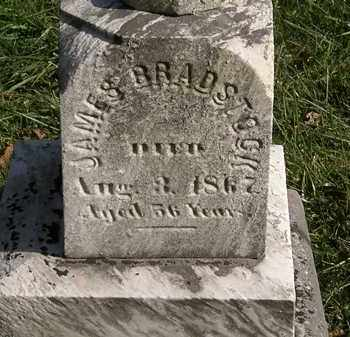 BRADSTOCK, JAMES - Lorain County, Ohio | JAMES BRADSTOCK - Ohio Gravestone Photos