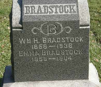 BRADSTOCK, WM. H. - Lorain County, Ohio | WM. H. BRADSTOCK - Ohio Gravestone Photos