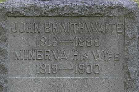 BRAITHWAITE, JOHN - Lorain County, Ohio | JOHN BRAITHWAITE - Ohio Gravestone Photos