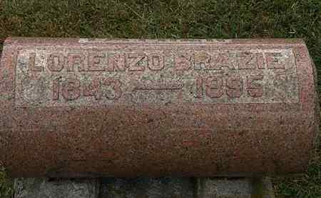 BRAZIE, LORENZO - Lorain County, Ohio | LORENZO BRAZIE - Ohio Gravestone Photos