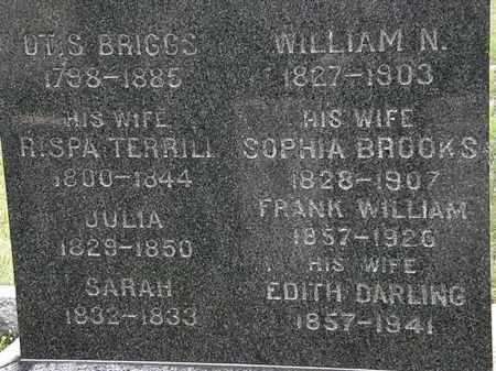 DARLING BRIGGS, EDITH - Lorain County, Ohio | EDITH DARLING BRIGGS - Ohio Gravestone Photos
