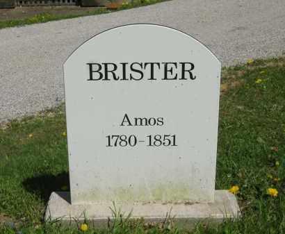BRISTER, AMOS - Lorain County, Ohio | AMOS BRISTER - Ohio Gravestone Photos
