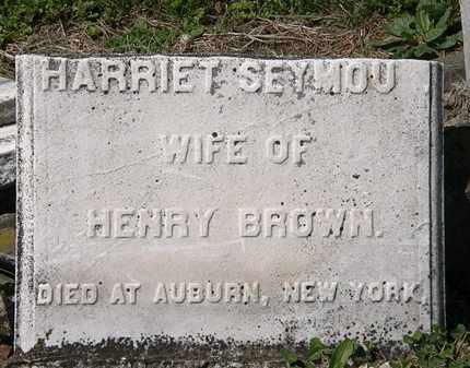 SEYMOUR BROWN, HARRIET - Lorain County, Ohio | HARRIET SEYMOUR BROWN - Ohio Gravestone Photos