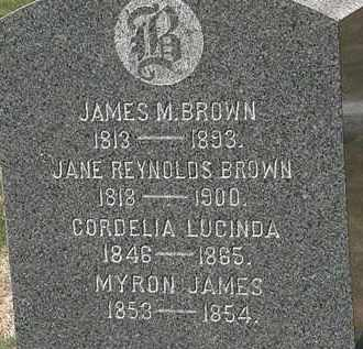 BROWN, MYRON JAMES - Lorain County, Ohio | MYRON JAMES BROWN - Ohio Gravestone Photos