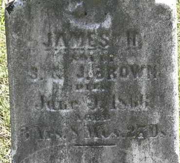 BROWN, JAMES H. - Lorain County, Ohio | JAMES H. BROWN - Ohio Gravestone Photos