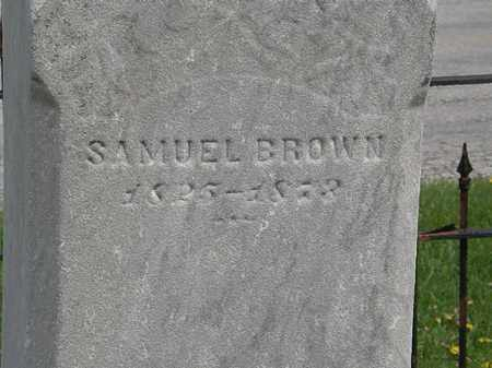BROWN, SAMUEL - Lorain County, Ohio | SAMUEL BROWN - Ohio Gravestone Photos