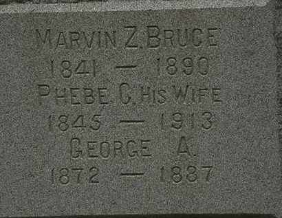 BRUCE, GEORGE A. - Lorain County, Ohio | GEORGE A. BRUCE - Ohio Gravestone Photos