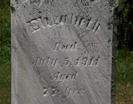 BUCHS, ELIZABETH - Lorain County, Ohio | ELIZABETH BUCHS - Ohio Gravestone Photos