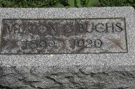 BUCHS, MILTON C. - Lorain County, Ohio | MILTON C. BUCHS - Ohio Gravestone Photos