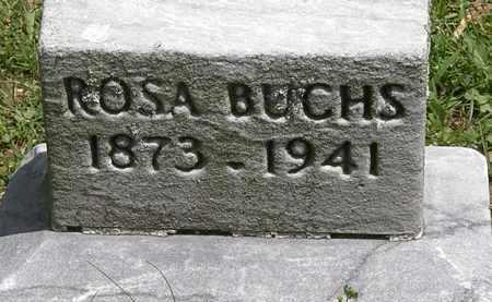 BUCHS, ROSA - Lorain County, Ohio | ROSA BUCHS - Ohio Gravestone Photos