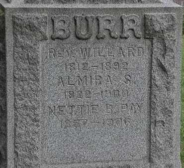 BURR, WILLARD - Lorain County, Ohio | WILLARD BURR - Ohio Gravestone Photos