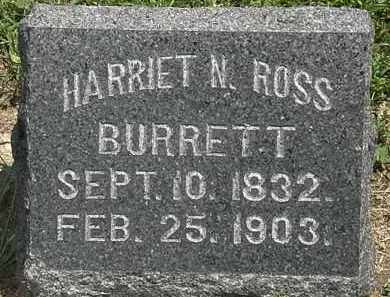 ROSS BURRETT, HARRIET N. - Lorain County, Ohio | HARRIET N. ROSS BURRETT - Ohio Gravestone Photos