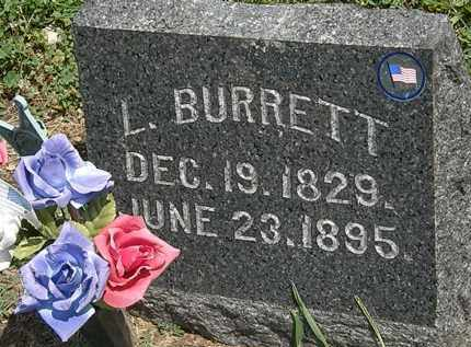 BURRETT, L. - Lorain County, Ohio | L. BURRETT - Ohio Gravestone Photos