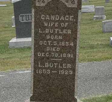 BUTLER, L. - Lorain County, Ohio | L. BUTLER - Ohio Gravestone Photos