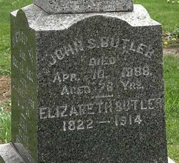 BUTLER, JOHN S. - Lorain County, Ohio | JOHN S. BUTLER - Ohio Gravestone Photos