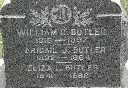 BUTLER, WILLIAM C. - Lorain County, Ohio | WILLIAM C. BUTLER - Ohio Gravestone Photos