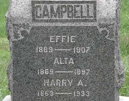 CAMPBELL, HARRY A. - Lorain County, Ohio | HARRY A. CAMPBELL - Ohio Gravestone Photos