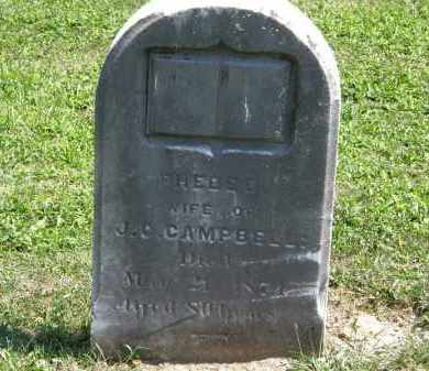 CAMPBELL, PHEBEE - Lorain County, Ohio | PHEBEE CAMPBELL - Ohio Gravestone Photos