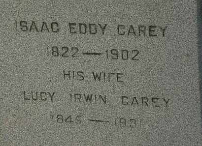 CAREY, ISAAC EDDY - Lorain County, Ohio | ISAAC EDDY CAREY - Ohio Gravestone Photos