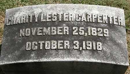 CARPENTER, CHARITY LESTER - Lorain County, Ohio | CHARITY LESTER CARPENTER - Ohio Gravestone Photos