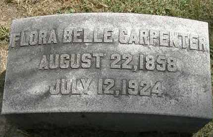 CARPENTER, FLORA BELLE - Lorain County, Ohio | FLORA BELLE CARPENTER - Ohio Gravestone Photos