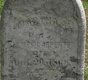 CARPENTER, MARTHA A. - Lorain County, Ohio | MARTHA A. CARPENTER - Ohio Gravestone Photos