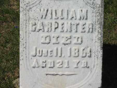 CARPENTER, WILLIAM - Lorain County, Ohio | WILLIAM CARPENTER - Ohio Gravestone Photos