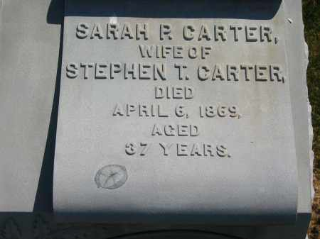 CARTER, SARAH P. - Lorain County, Ohio | SARAH P. CARTER - Ohio Gravestone Photos