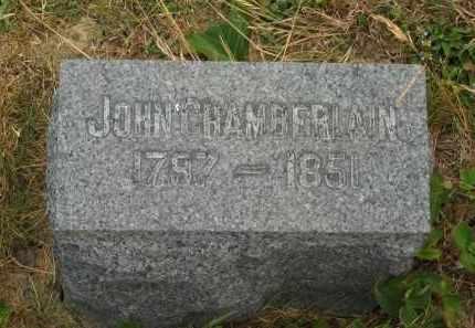 CHAMBERLAIN, JOHN - Lorain County, Ohio | JOHN CHAMBERLAIN - Ohio Gravestone Photos
