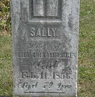 CHAMBERLIN, SALLY - Lorain County, Ohio | SALLY CHAMBERLIN - Ohio Gravestone Photos
