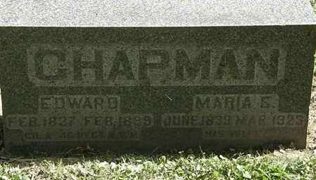 CHAPMAN, EDWARD - Lorain County, Ohio | EDWARD CHAPMAN - Ohio Gravestone Photos