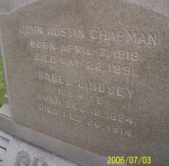 CHAPMAN, ISABEL - Lorain County, Ohio | ISABEL CHAPMAN - Ohio Gravestone Photos