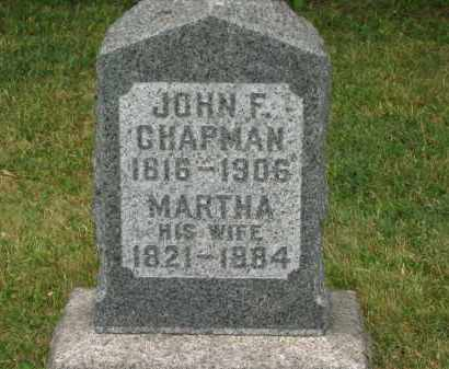 CHAPMAN, MARTHA - Lorain County, Ohio | MARTHA CHAPMAN - Ohio Gravestone Photos