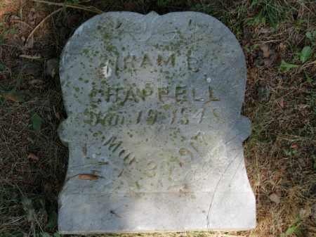 CHAPPELL, HIRAM - Lorain County, Ohio | HIRAM CHAPPELL - Ohio Gravestone Photos