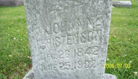 CHRISTENSON, JOHANNE - Lorain County, Ohio | JOHANNE CHRISTENSON - Ohio Gravestone Photos