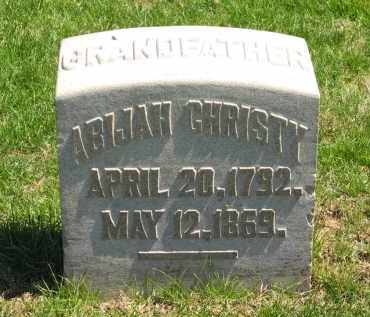 CHRISTY, ABIJAH - Lorain County, Ohio | ABIJAH CHRISTY - Ohio Gravestone Photos
