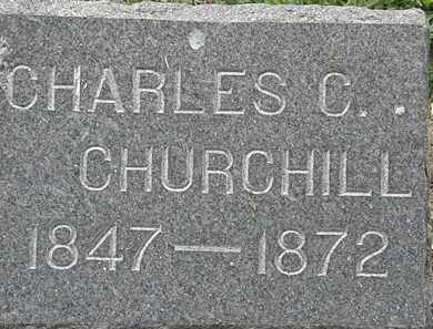 CHURCHILL, CHARLES C. - Lorain County, Ohio | CHARLES C. CHURCHILL - Ohio Gravestone Photos