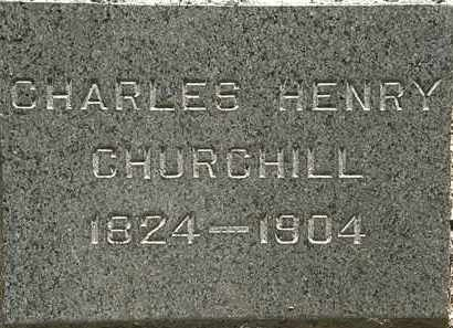 CHURCHILL, CHARLES HENRY - Lorain County, Ohio | CHARLES HENRY CHURCHILL - Ohio Gravestone Photos