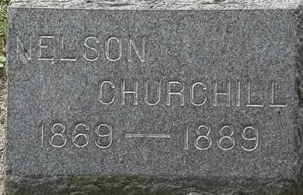 CHURCHILL, NELSON - Lorain County, Ohio | NELSON CHURCHILL - Ohio Gravestone Photos