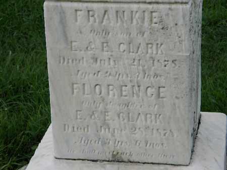 CLARK, FRANKIE - Lorain County, Ohio | FRANKIE CLARK - Ohio Gravestone Photos