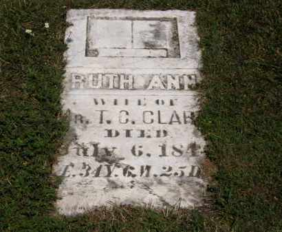CLARK, RUTH ANN - Lorain County, Ohio | RUTH ANN CLARK - Ohio Gravestone Photos