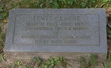 CLARKE, LEWIS - Lorain County, Ohio | LEWIS CLARKE - Ohio Gravestone Photos